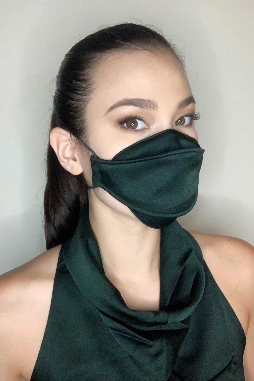 Languid Mask - Olive Green