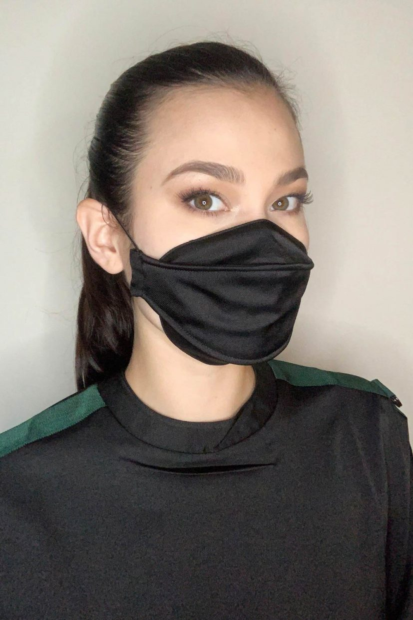 Languid Mask - Black