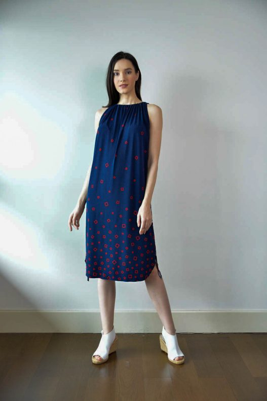 Kentville Dress - Navy