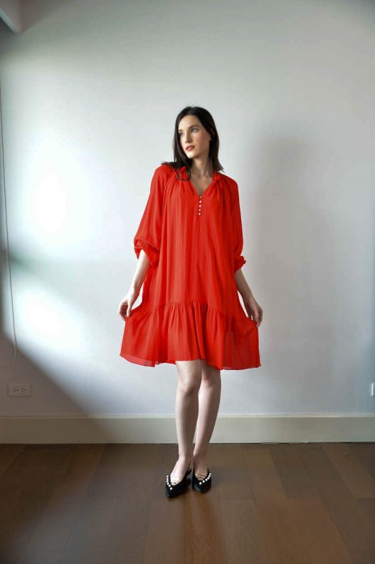 Dorval Tweak Dress v2 - Red